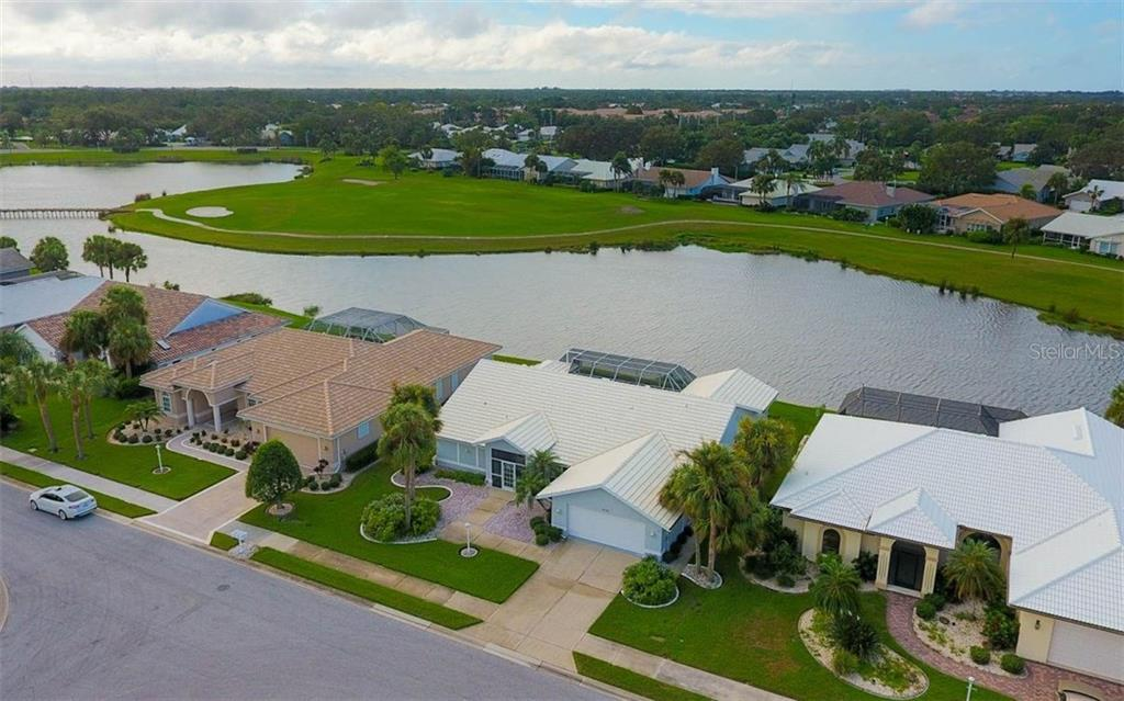 Long Water Views and Signature Hole! - Single Family Home for sale at 1632 Valley Dr, Venice, FL 34292 - MLS Number is A4197771