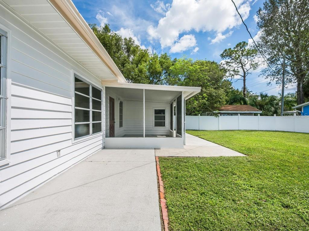 SCREENED PORCH - Single Family Home for sale at 2256 Waldemere St, Sarasota, FL 34239 - MLS Number is A4198477