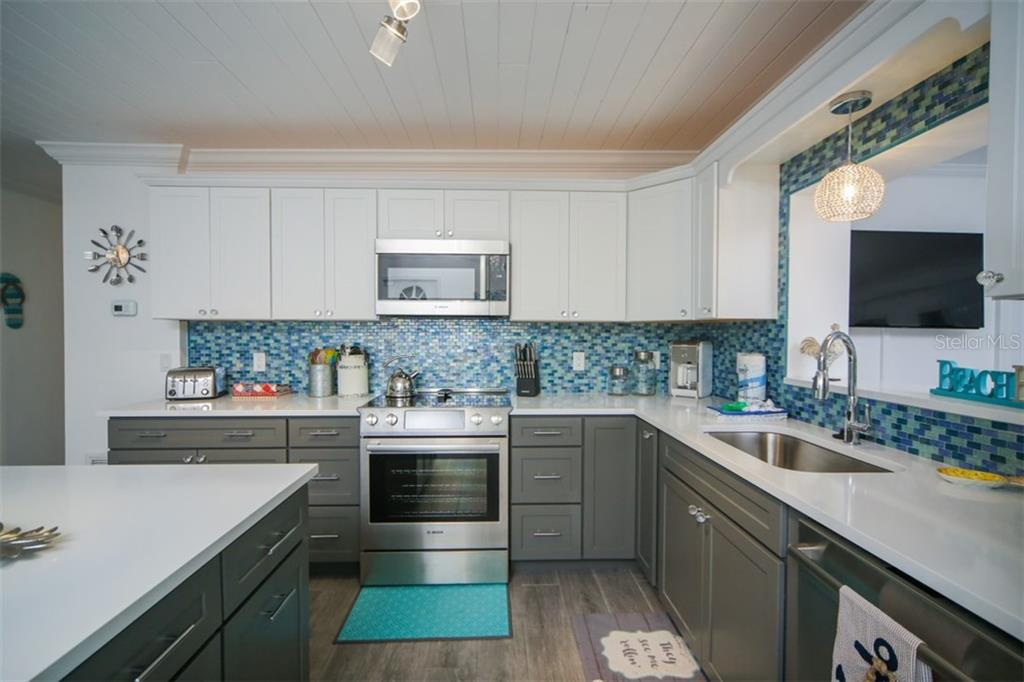 Brand new kitchen - Single Family Home for sale at 213 70th St, Holmes Beach, FL 34217 - MLS Number is A4202171