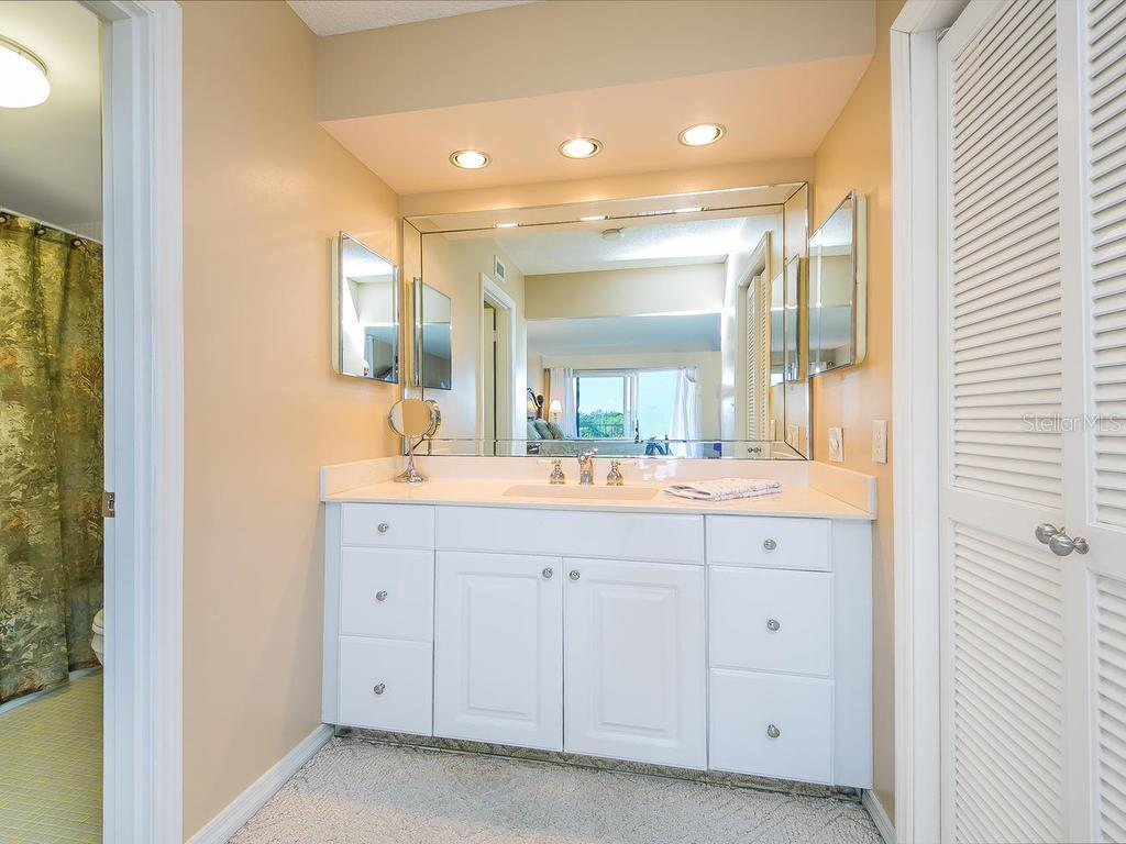 2nd bathroom - Condo for sale at 2301 Gulf Of Mexico Dr #55n, Longboat Key, FL 34228 - MLS Number is A4206569