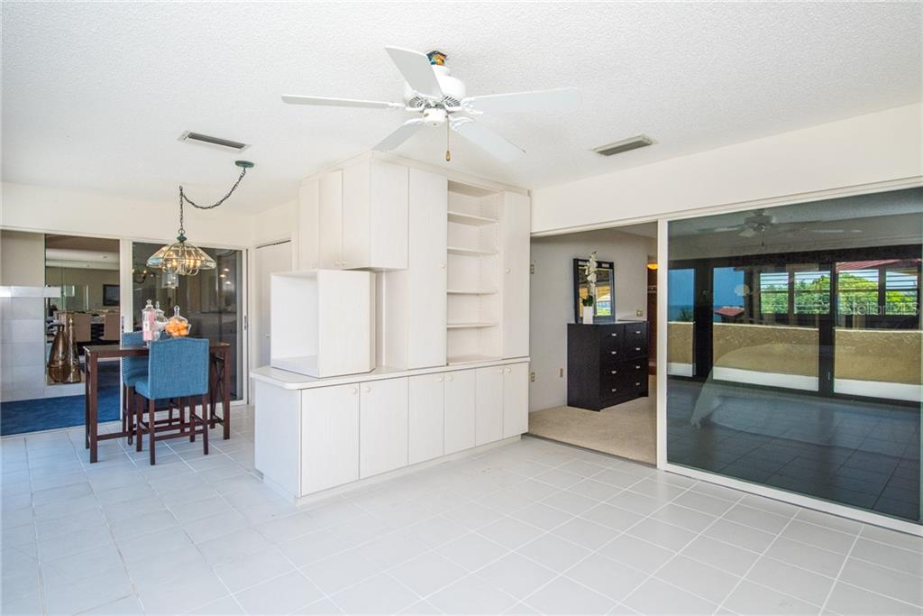 Views from patio - Condo for sale at 8730 Midnight Pass Rd #400, Sarasota, FL 34242 - MLS Number is A4209312
