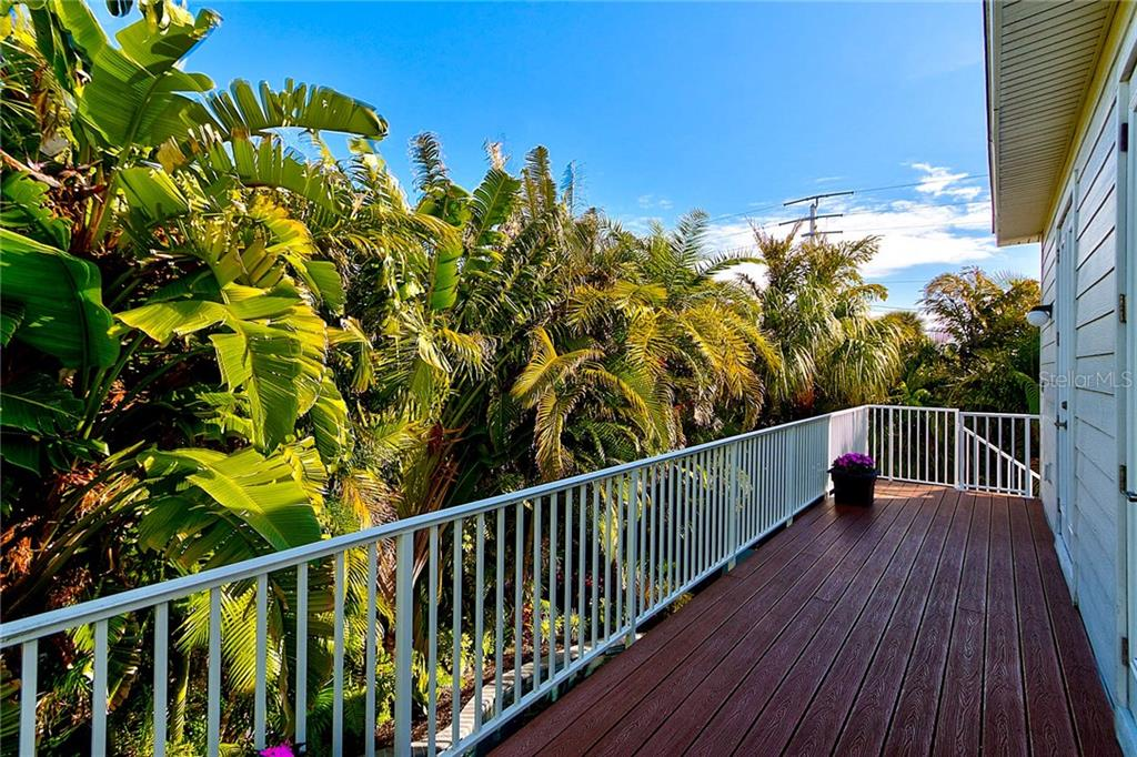 Back Balcony - Single Family Home for sale at 104 43rd St, Holmes Beach, FL 34217 - MLS Number is A4209338