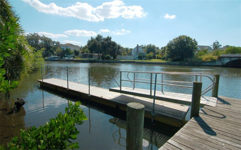 Dock - Condo for sale at 835 S Osprey Ave #314, Sarasota, FL 34236 - MLS Number is A4210271