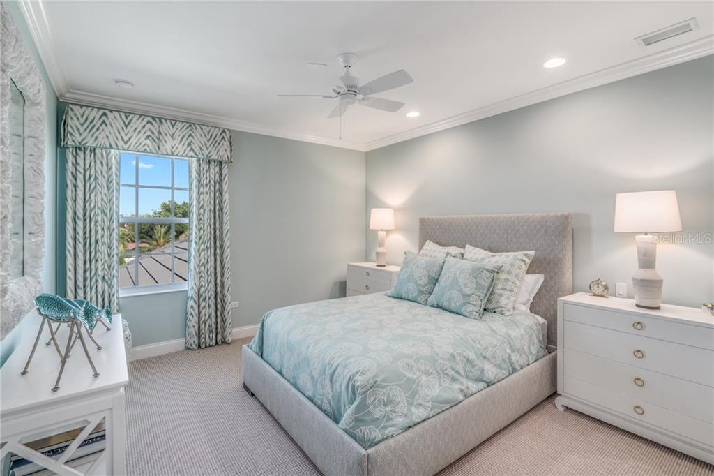 Bedroom 2 - Single Family Home for sale at 1503 Blue Heron Dr, Sarasota, FL 34239 - MLS Number is A4212851
