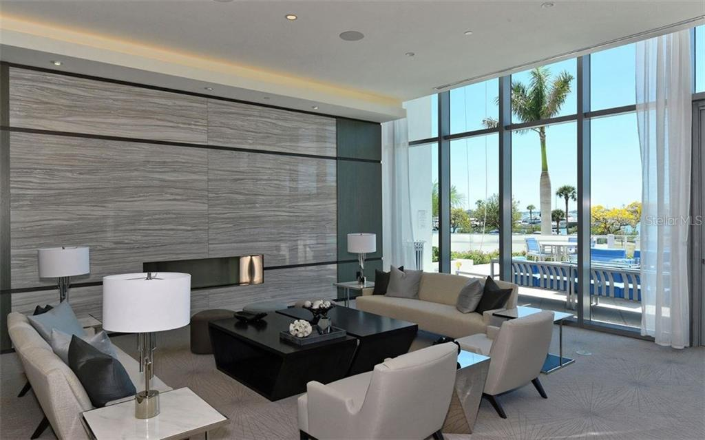 Resident's common area - Condo for sale at 1155 N Gulfstream Ave #1504, Sarasota, FL 34236 - MLS Number is A4215032
