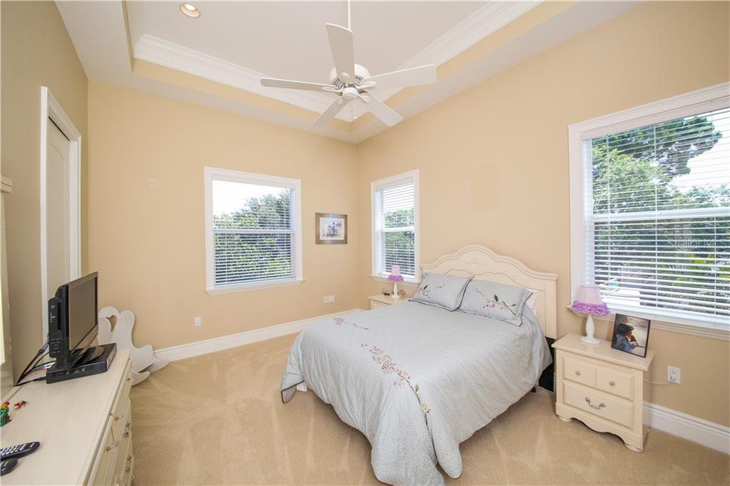 Bedroom #3 - Single Family Home for sale at 432 Sorrento Dr, Osprey, FL 34229 - MLS Number is A4402898