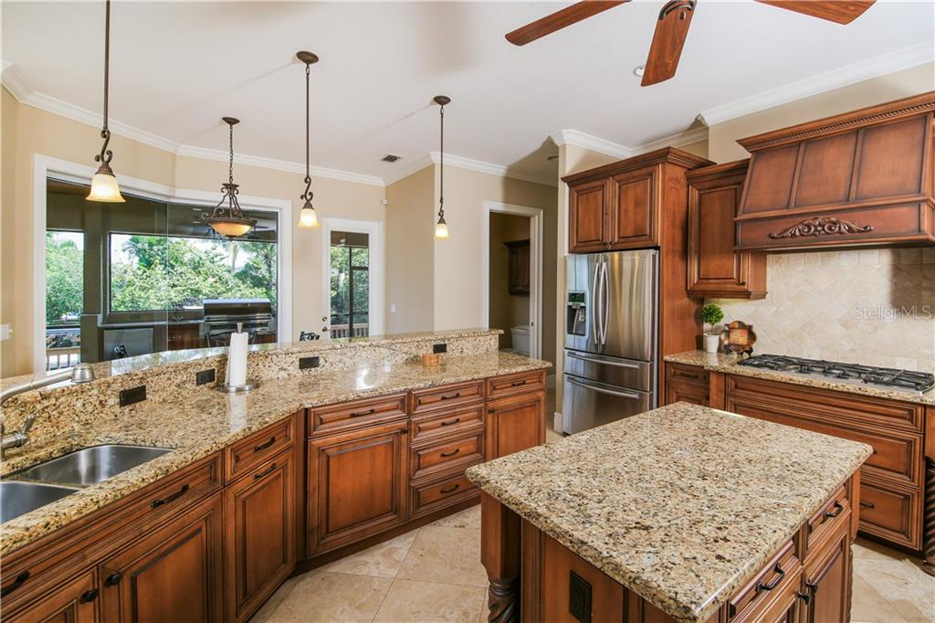 Kitchen - Single Family Home for sale at 432 Sorrento Dr, Osprey, FL 34229 - MLS Number is A4402898