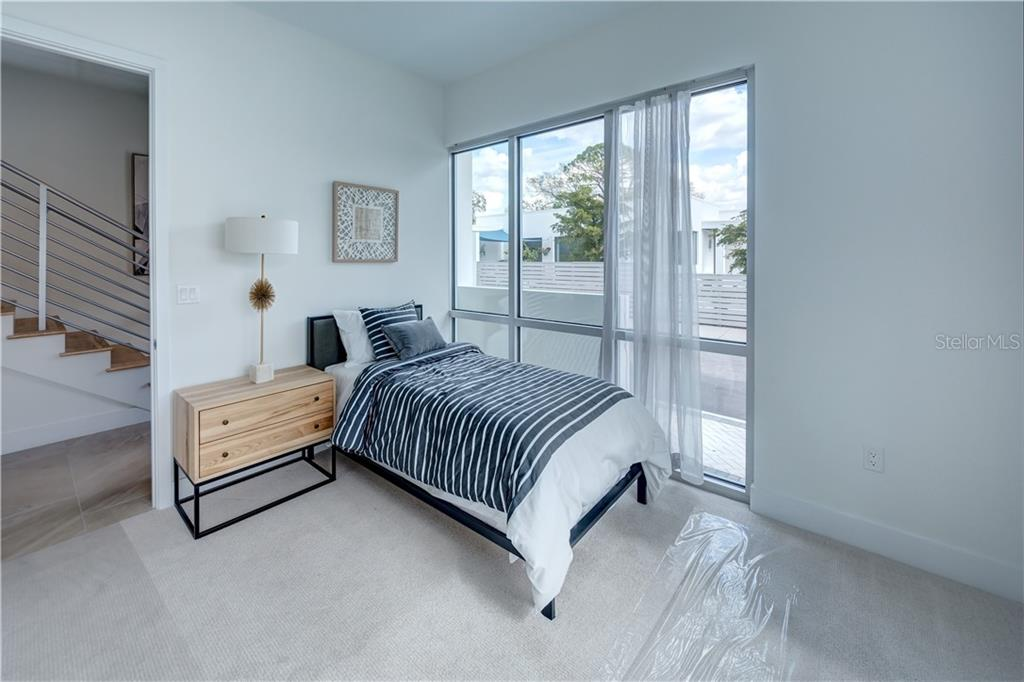 3rd Bedroom - Townhouse for sale at 632 S Rawls Ave, Sarasota, FL 34236 - MLS Number is A4404361