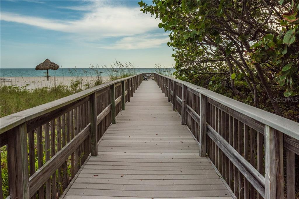 Private boardwalk to private beach - Condo for sale at 435 L Ambiance Dr #k806, Longboat Key, FL 34228 - MLS Number is A4406683