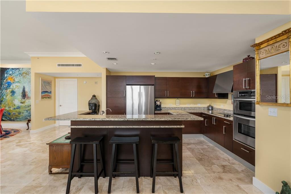 Kitchen - Condo for sale at 1350 Main St #1510, Sarasota, FL 34236 - MLS Number is A4412247