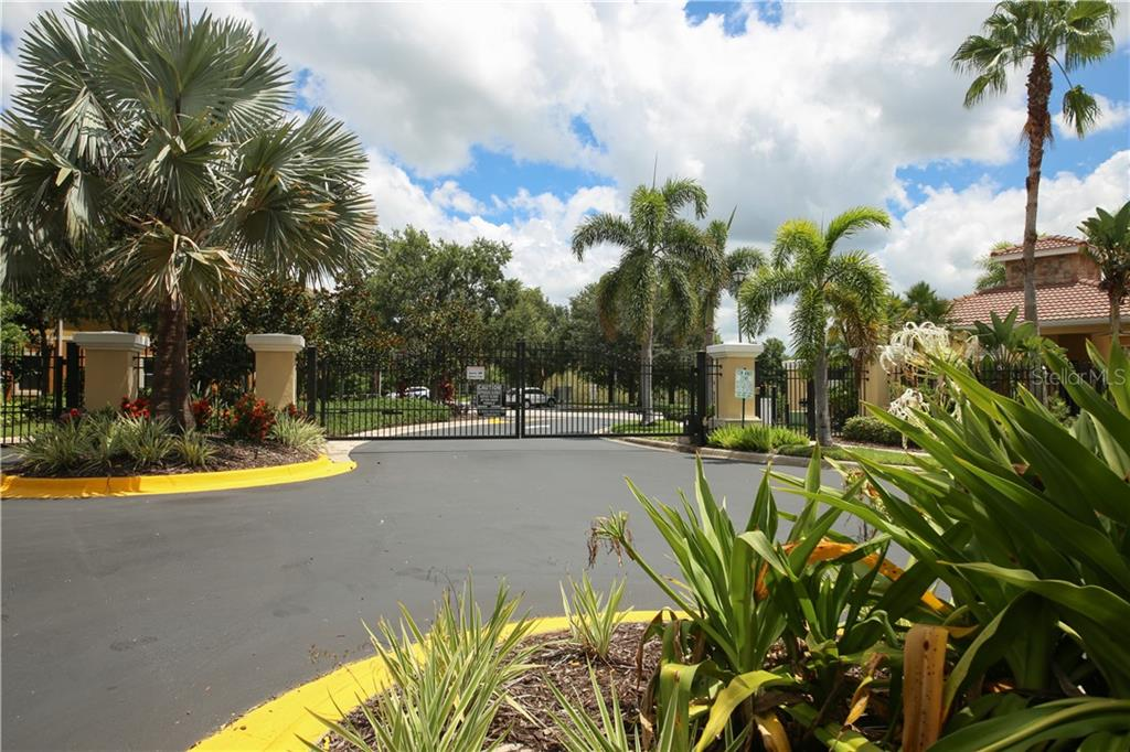 Gated community with lush tropical landscape. - Condo for sale at 7895 Limestone Ln #12-202, Sarasota, FL 34233 - MLS Number is A4412836