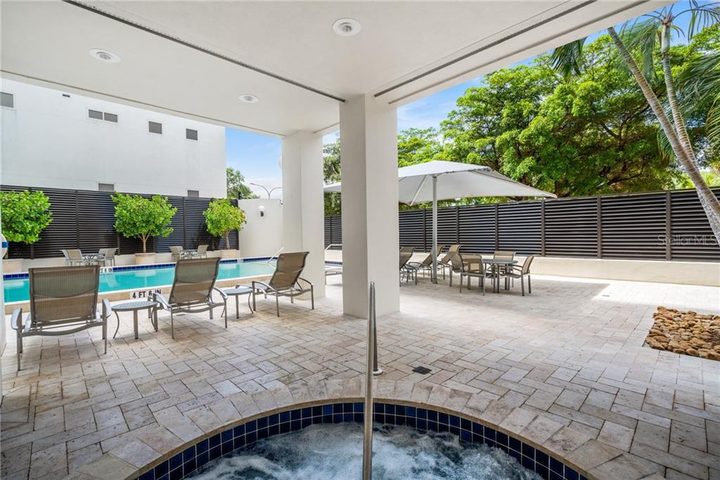 Pool & Spa - Condo for sale at 1255 N Gulfstream Ave #1502, Sarasota, FL 34236 - MLS Number is A4413205
