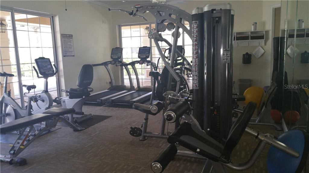 Community exercise room - Condo for sale at 6516 Moorings Point Cir #202, Lakewood Ranch, FL 34202 - MLS Number is A4413295