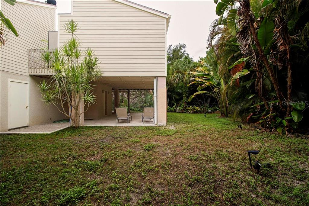 Back of Property - Single Family Home for sale at 1205 Sea Plume Way, Sarasota, FL 34242 - MLS Number is A4414083