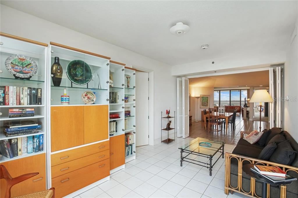 Den which can be easily converted to an en-suite 3rd bedroom. See attached floor plan. - Condo for sale at 3040 Grand Bay Blvd #264, Longboat Key, FL 34228 - MLS Number is A4414879
