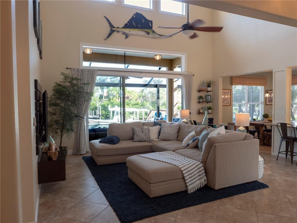 Entertaining and family time are a pleasure in this fabulous open floor plan with access to the patio and pool. - Single Family Home for sale at 3803 5th Ave Ne, Bradenton, FL 34208 - MLS Number is A4417524