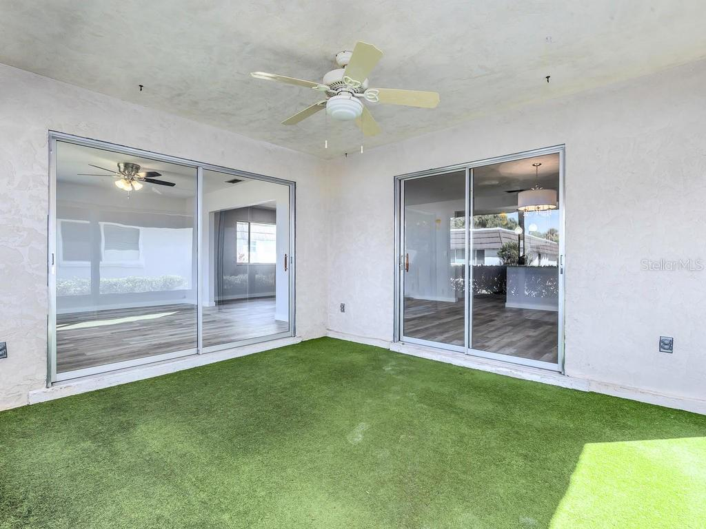 Patio - Villa for sale at 1513 Lakeside Way #151, Sarasota, FL 34232 - MLS Number is A4417776