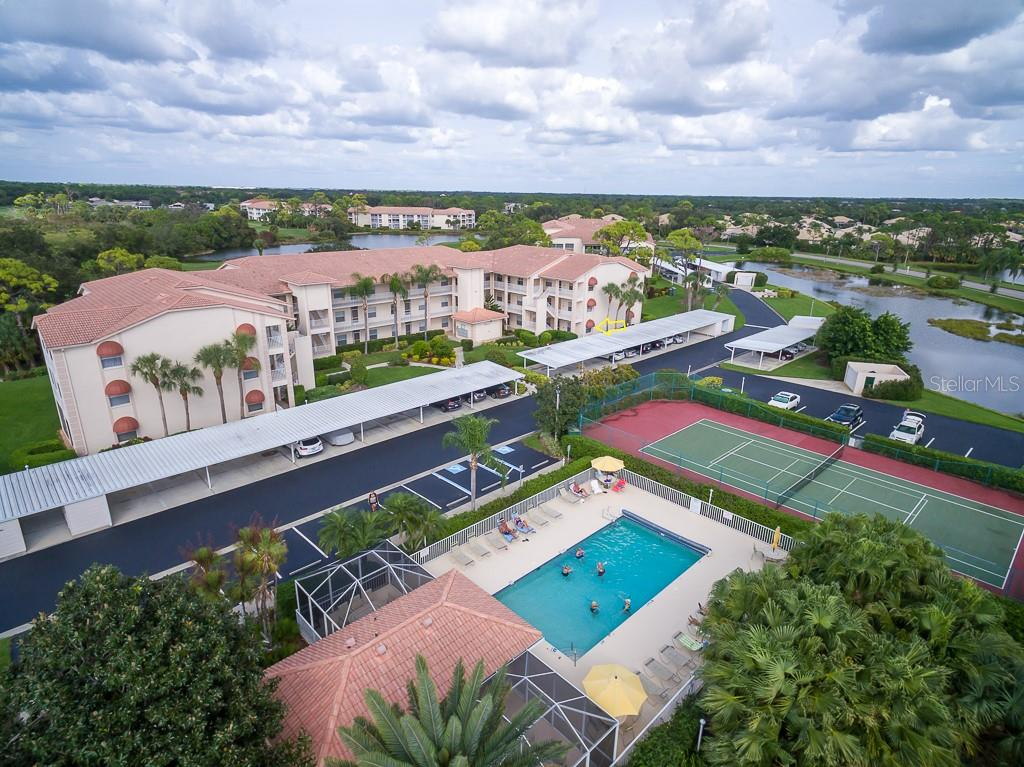 Walk across the street to your amenities,  #5110 is in the middle building - Condo for sale at 9620 Club South Cir #5110, Sarasota, FL 34238 - MLS Number is A4418081