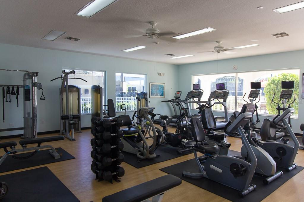Well-equipped fitness center - Condo for sale at 9620 Club South Cir #5110, Sarasota, FL 34238 - MLS Number is A4418081