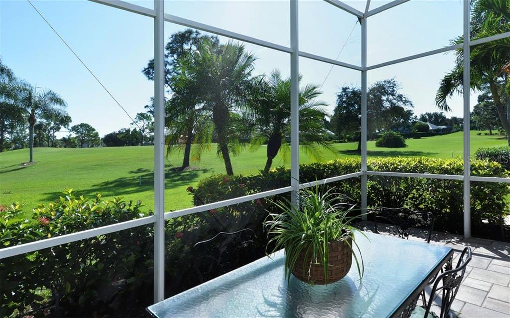 View from lanai - Single Family Home for sale at 462 Sherbrooke Ct, Venice, FL 34293 - MLS Number is A4418225