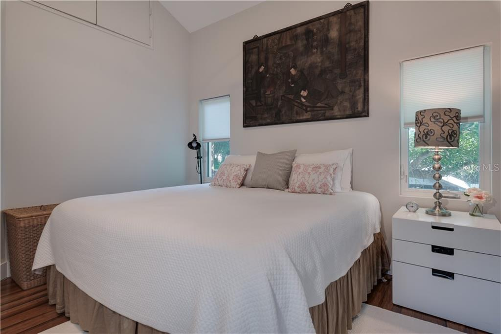Guest house bedroom. - Single Family Home for sale at 147 Garfield Dr, Sarasota, FL 34236 - MLS Number is A4420375
