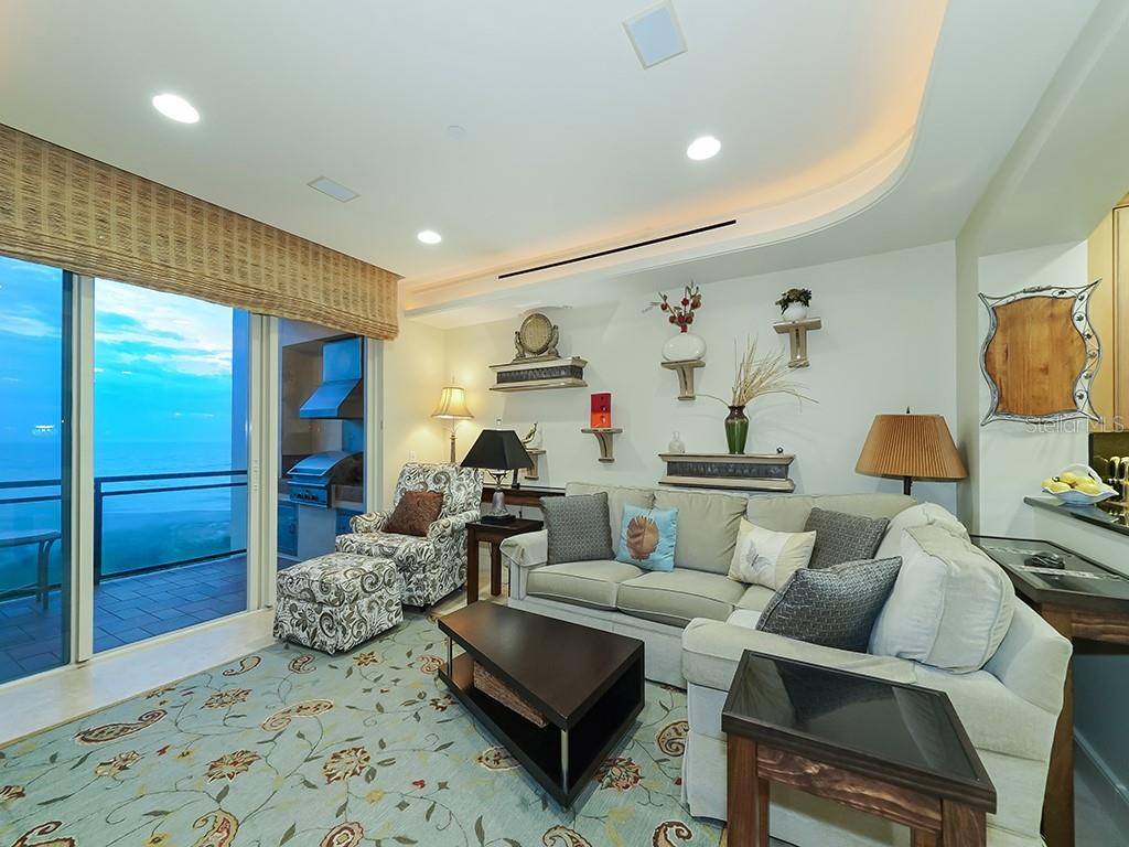 Family Room Walls of Glass - Condo for sale at 2399 Gulf Of Mexico Dr #3c3, Longboat Key, FL 34228 - MLS Number is A4421722