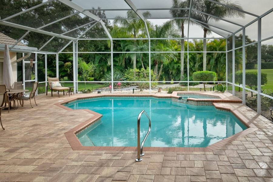 Heated Pool w/Spa - Single Family Home for sale at 7791 Alister Mackenzie Dr, Sarasota, FL 34240 - MLS Number is A4422525
