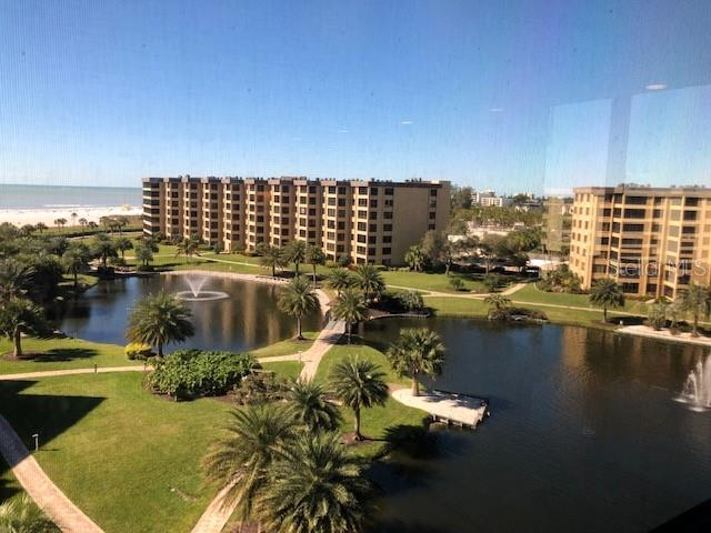NW View of resort property and beach - Condo for sale at 5780 Midnight Pass Rd #701b, Sarasota, FL 34242 - MLS Number is A4422545