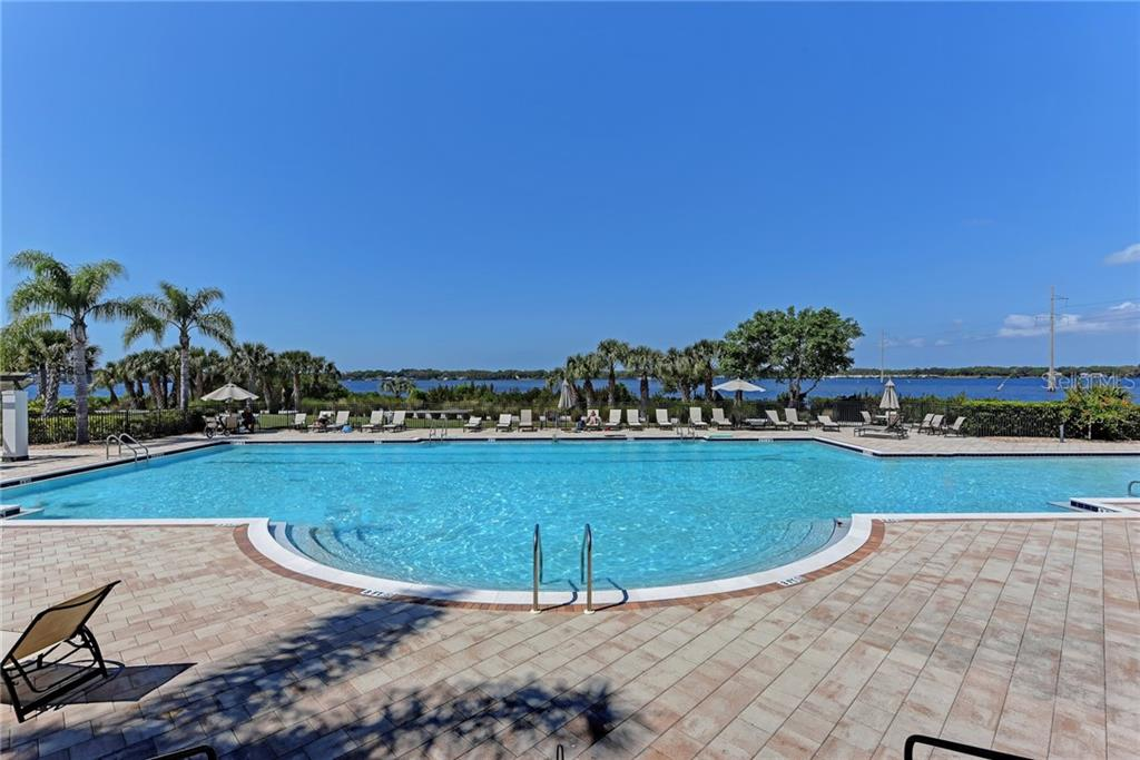 Community resort style pool - Single Family Home for sale at 5712 Tidewater Preserve Blvd, Bradenton, FL 34208 - MLS Number is A4424693