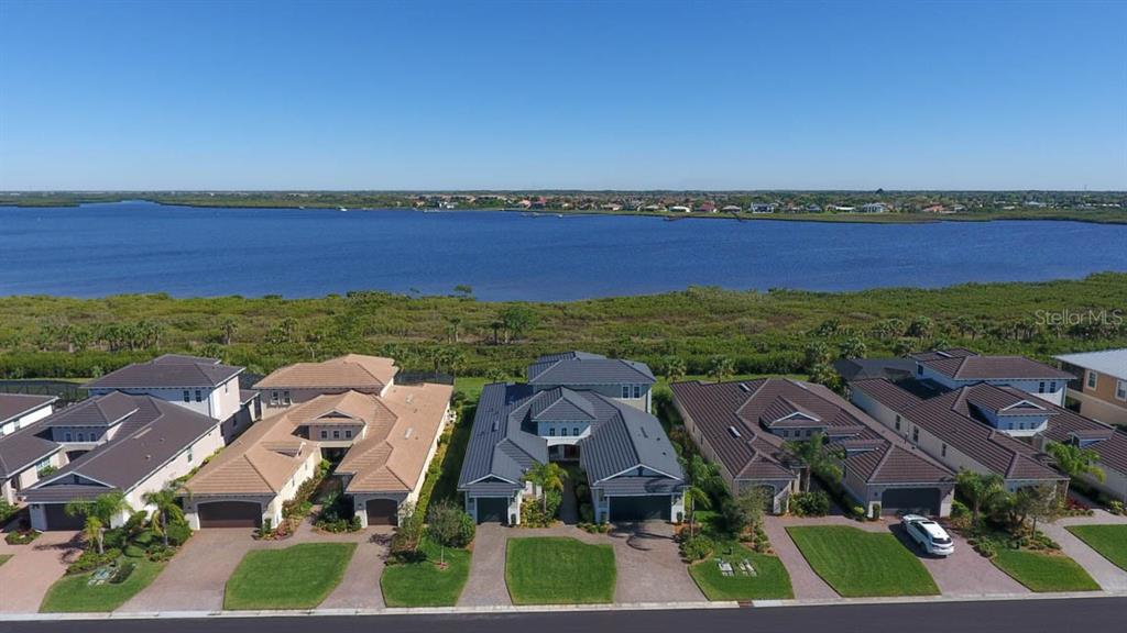 Bird's eye view - Single Family Home for sale at 5504 Tidewater Preserve Blvd, Bradenton, FL 34208 - MLS Number is A4429479