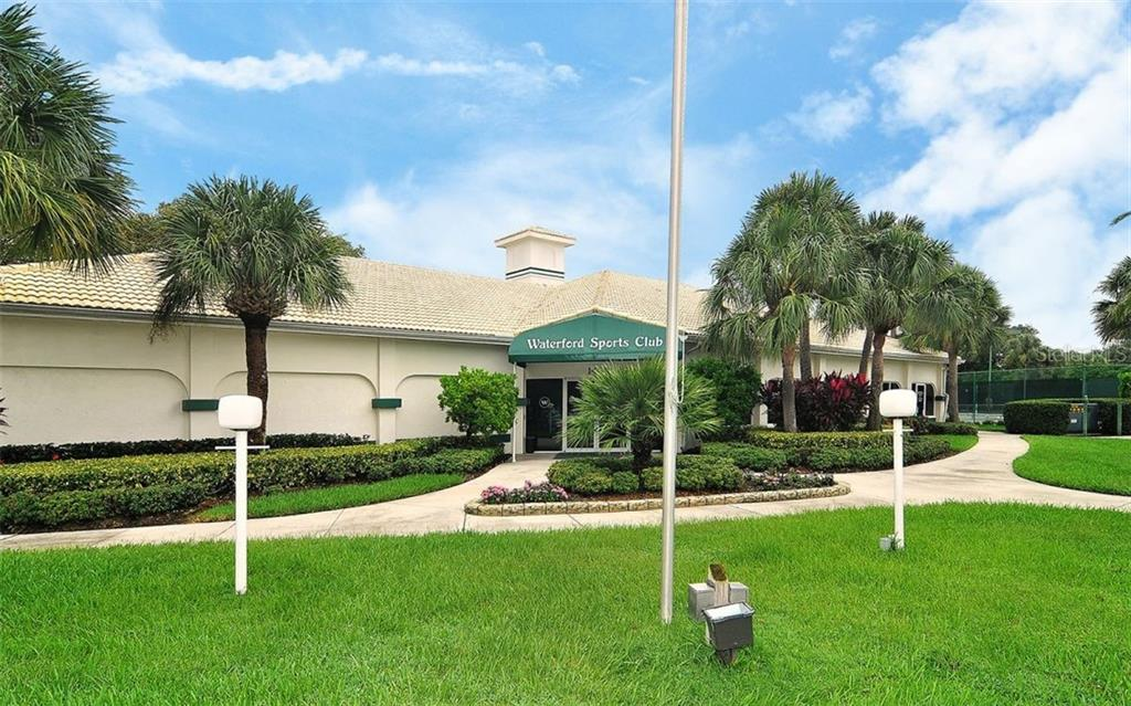 All residents can take advantage of the Waterford Sports Club. Host a party, play cards, exercise or enjoy the library. - Single Family Home for sale at 1636 Liscourt Dr, Venice, FL 34292 - MLS Number is A4429524