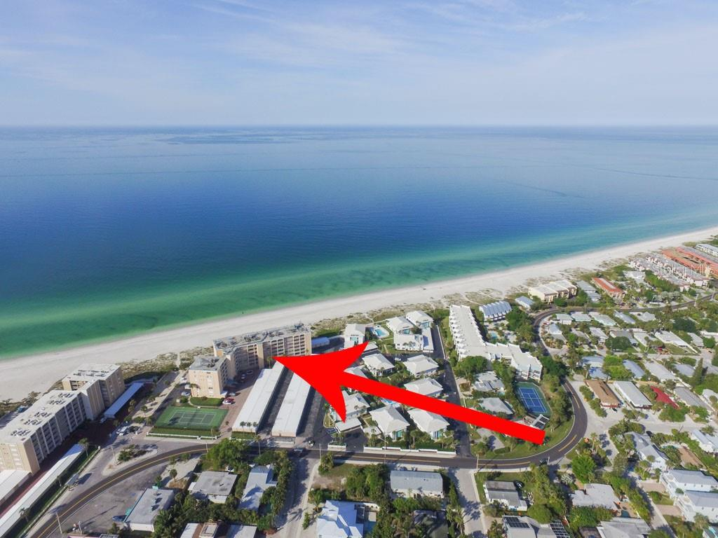Your own garage! - Condo for sale at 5300 Gulf Dr #406, Holmes Beach, FL 34217 - MLS Number is A4430634