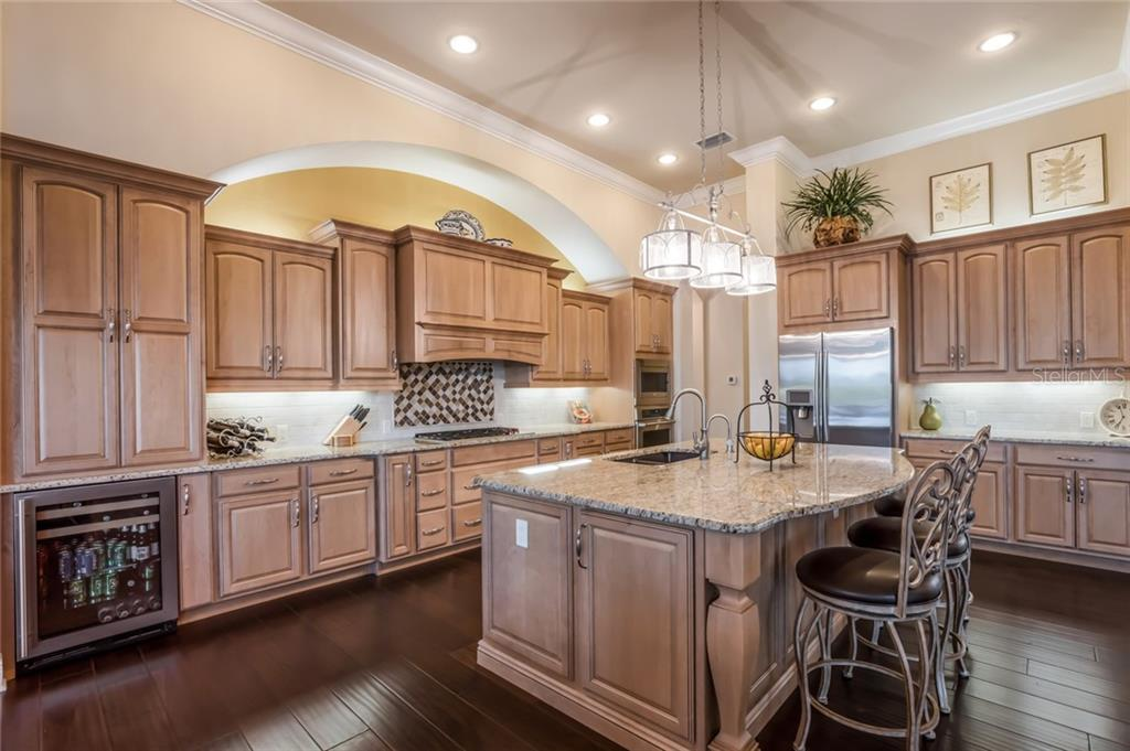 All high end stainless steel appliances and granite counter tops. - Single Family Home for sale at 19432 Newlane Pl, Bradenton, FL 34202 - MLS Number is A4432094