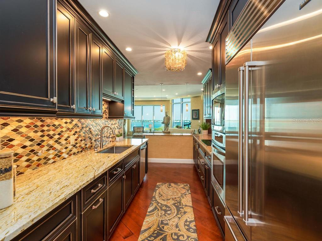 Enjoy the view from the kitchen, too - Condo for sale at 340 S Palm Ave #74, Sarasota, FL 34236 - MLS Number is A4432744