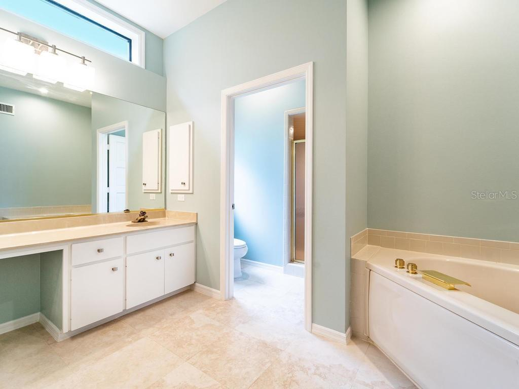 Master bathroom. - Single Family Home for sale at 4773 Pine Harrier Dr, Sarasota, FL 34231 - MLS Number is A4436182