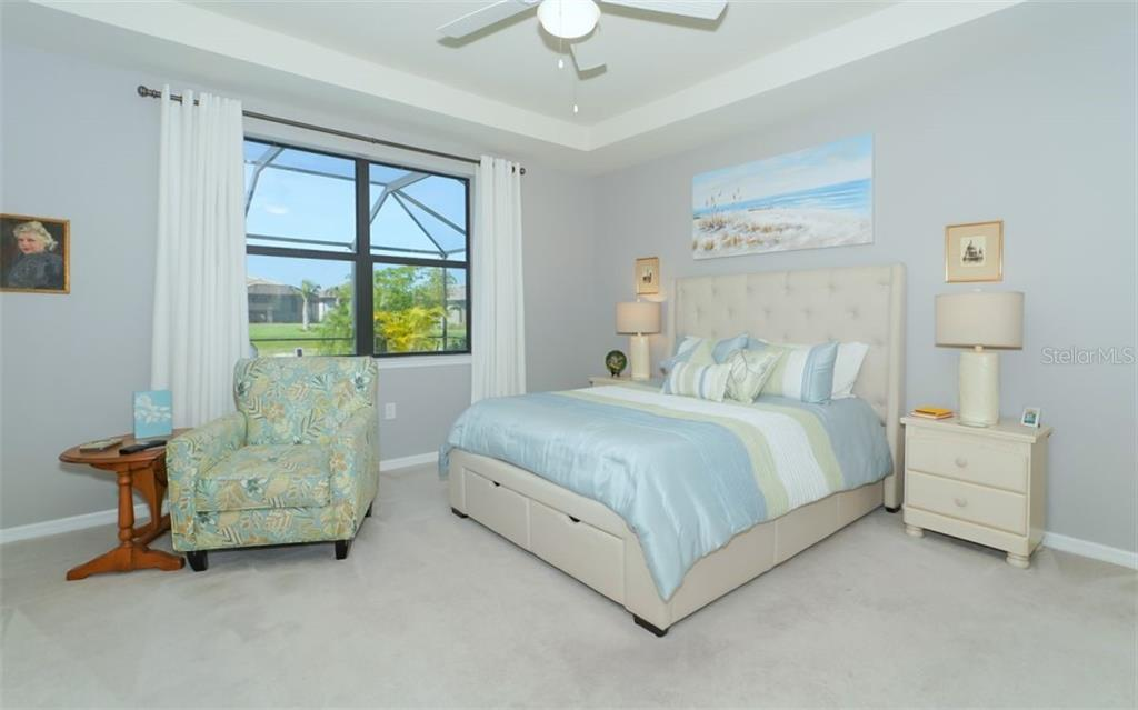 Master Bedroom - Single Family Home for sale at 13337 Pacchio St, Venice, FL 34293 - MLS Number is A4437569