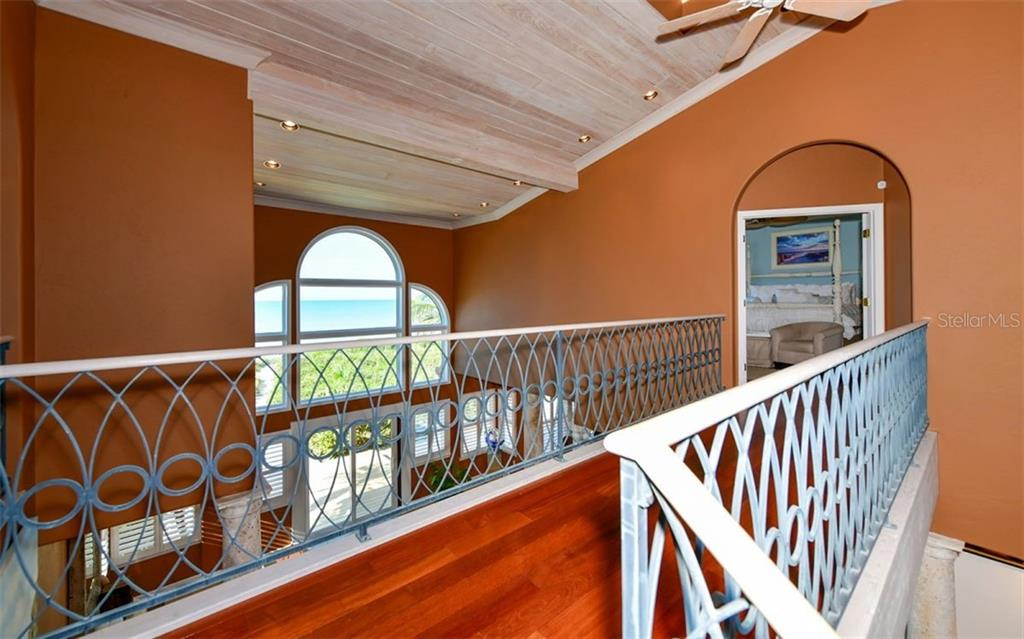 Floating Bridge to Master Suite - Single Family Home for sale at 3809 Casey Key Rd, Nokomis, FL 34275 - MLS Number is A4437924