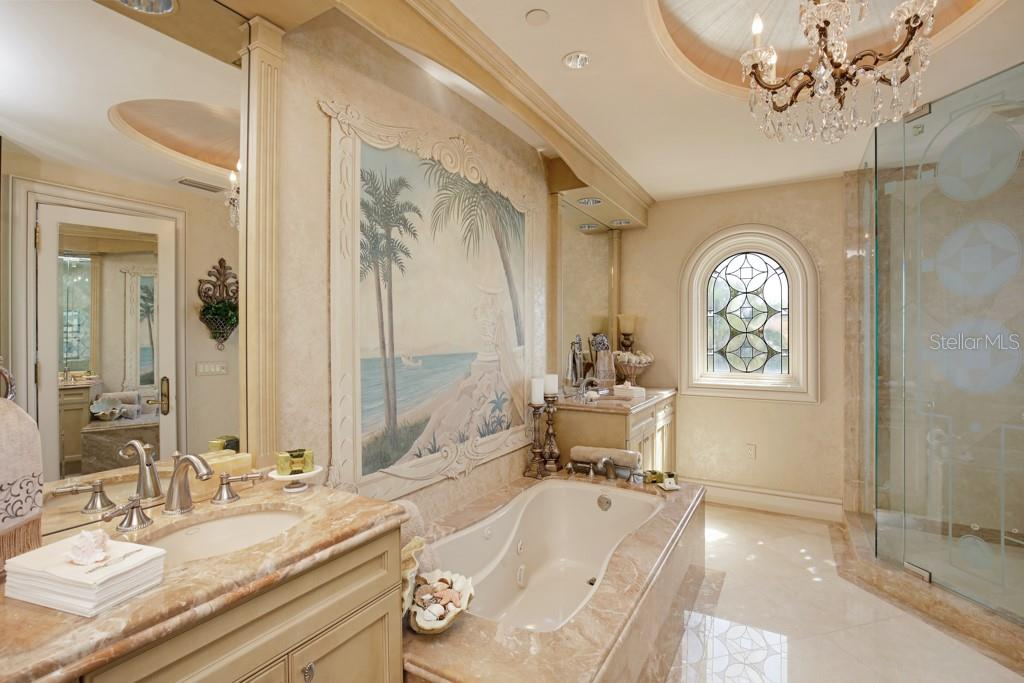 Guest bathroom - Single Family Home for sale at 845 Longboat Club Rd, Longboat Key, FL 34228 - MLS Number is A4440615