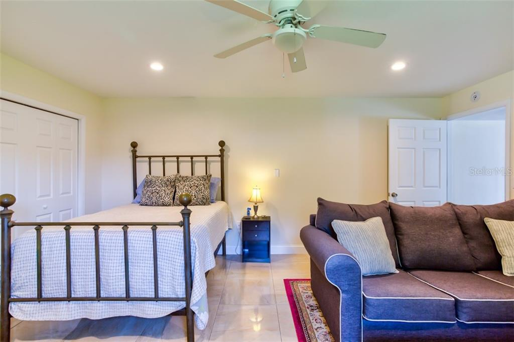 In Law Apt Bedroom. - Single Family Home for sale at 2322 Cadillac St, Sarasota, FL 34231 - MLS Number is A4440841