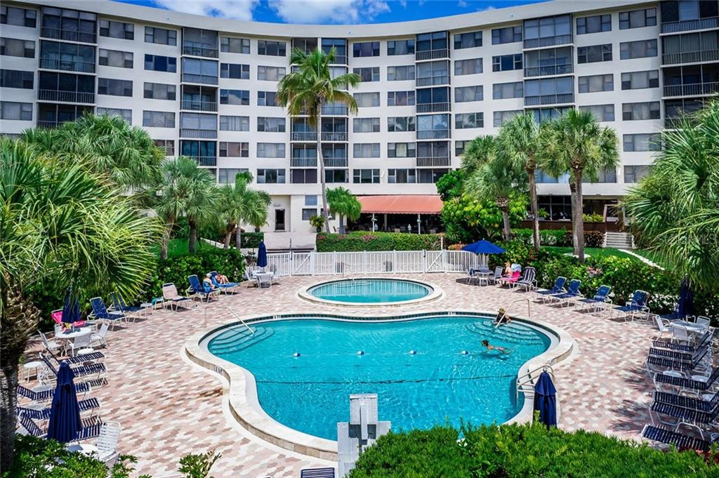 Pools - Condo for sale at 5855 Midnight Pass Rd #429, Sarasota, FL 34242 - MLS Number is A4446942