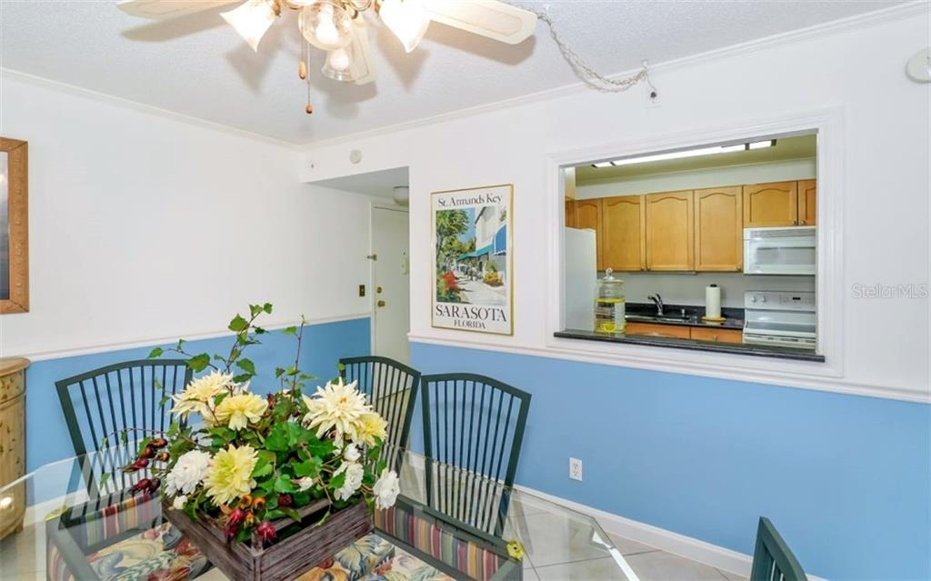 Dining Area - Condo for sale at 5855 Midnight Pass Rd #429, Sarasota, FL 34242 - MLS Number is A4446942