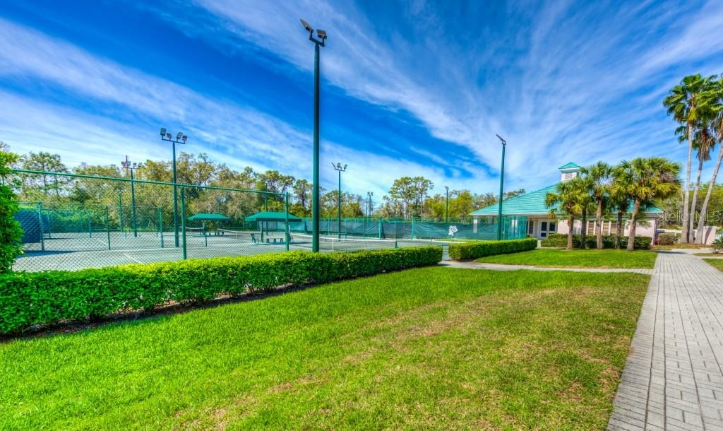 Country Club tennis courts - Single Family Home for sale at 8727 53rd Ter E, Bradenton, FL 34211 - MLS Number is A4447005