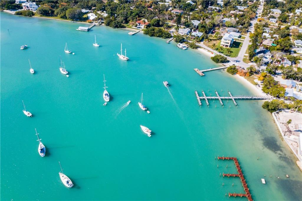 Boaters delight for dockside dining on Longboat Key!  Set your compass toward Jewfish Key and enjoy a meal at Mar Vista Dockside or Shore - Vacant Land for sale at 5910 Gulf Of Mexico Dr, Longboat Key, FL 34228 - MLS Number is A4450538