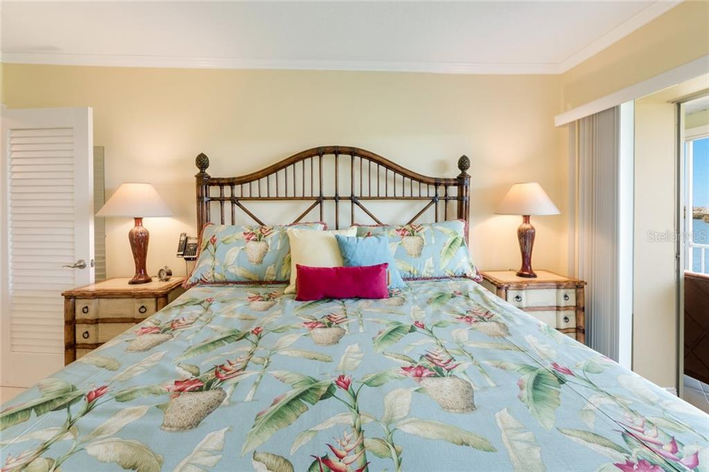 Master Bedroom - Condo for sale at 3330 Gulf Of Mexico Dr #305-D, Longboat Key, FL 34228 - MLS Number is A4454357