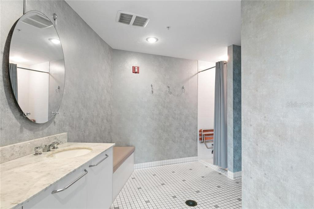 Fitness center locker rooms. - Condo for sale at 500 S Palm Ave #91, Sarasota, FL 34236 - MLS Number is A4454405