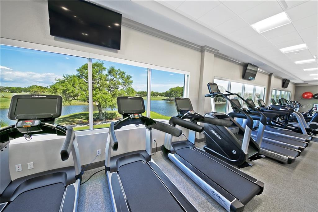 Community Fitness - Single Family Home for sale at 552 Eagle Watch Ln, Osprey, FL 34229 - MLS Number is A4454431