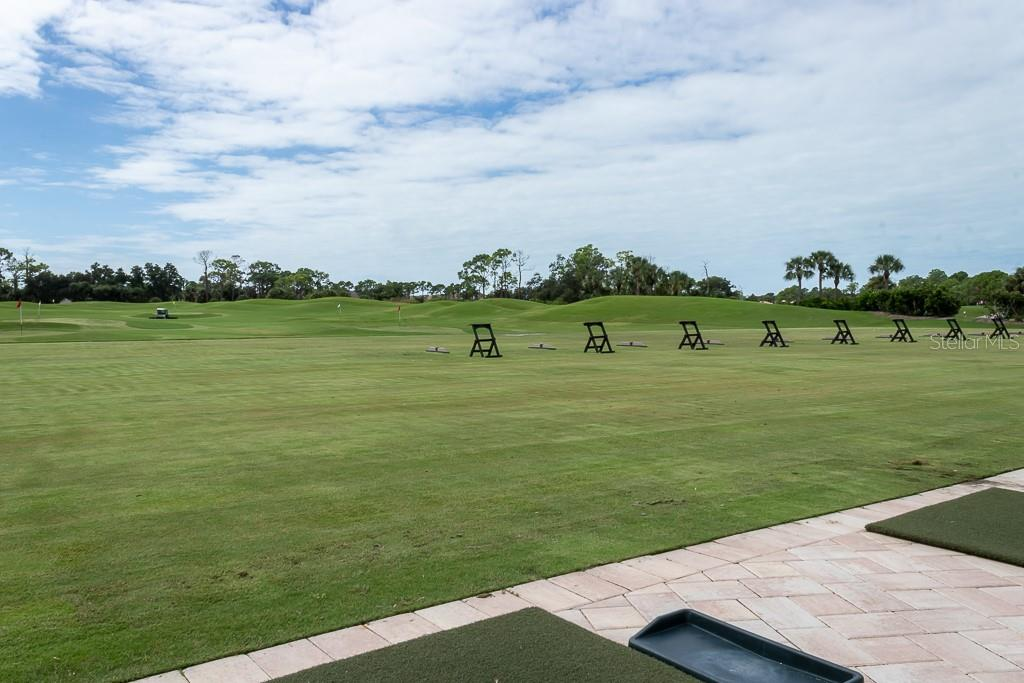 Driving range - Condo for sale at 9570 High Gate Dr #1722, Sarasota, FL 34238 - MLS Number is A4457005