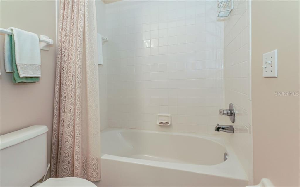Master bath features walk-in shower - Condo for sale at 9631 Castle Point Dr #1123, Sarasota, FL 34238 - MLS Number is A4457428