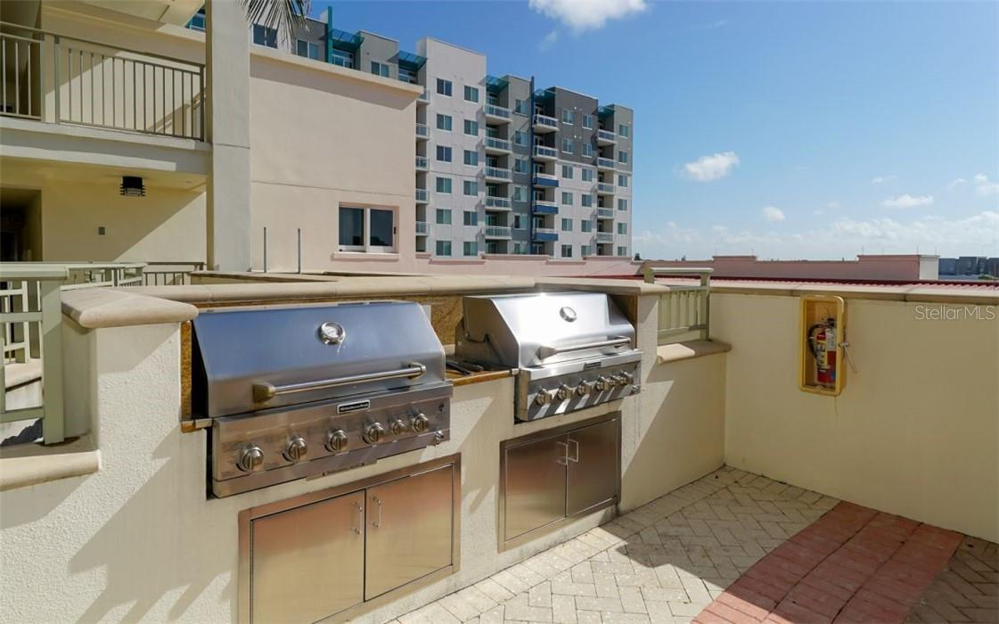 Grills for the outdoor cook - Condo for sale at 100 Central Ave #A304, Sarasota, FL 34236 - MLS Number is A4458873