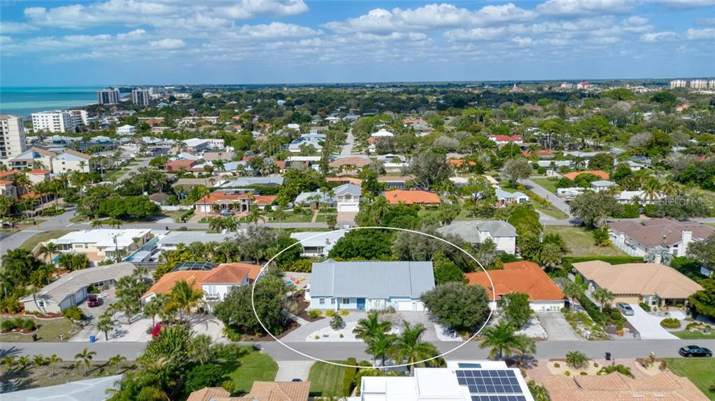 Aerial - Single Family Home for sale at 448 Baynard Dr, Venice, FL 34285 - MLS Number is A4459566